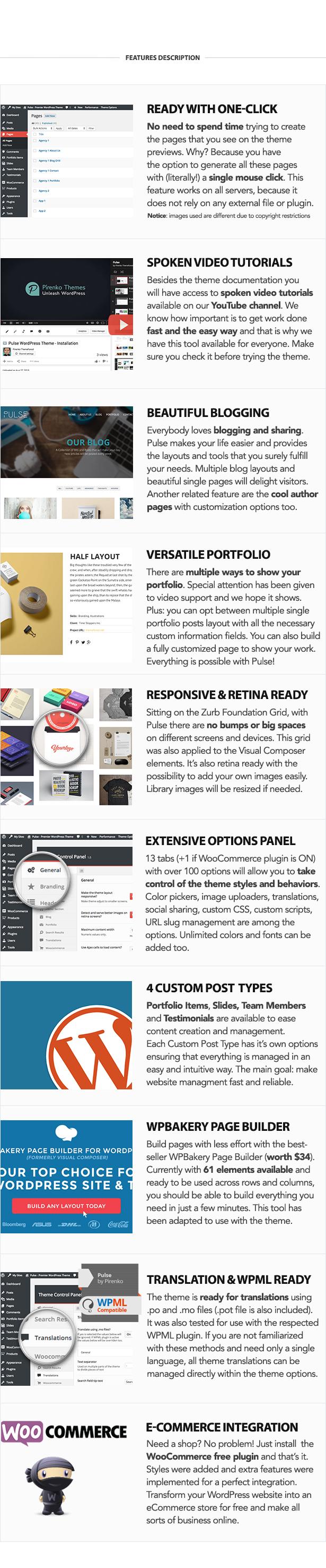 Pulse - Premier WordPress Theme - 4