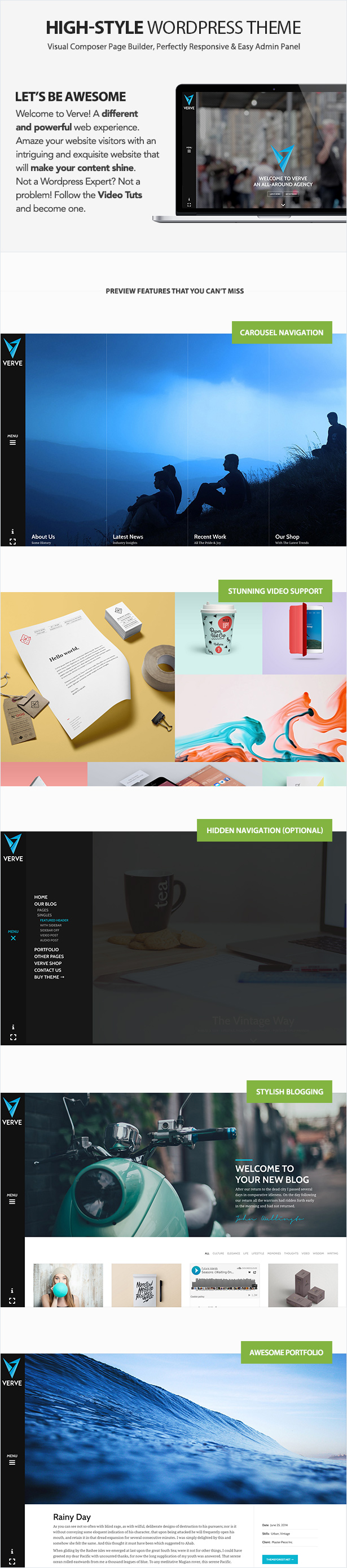 Verve - High-Style WordPress Theme - 2